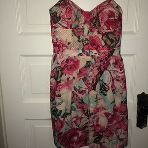 Jessica Simpson Floral spaghetti strap dress
